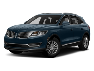 Blue Diamond Metallic 2018 Lincoln MKX Pictures MKX Utility 4D Premiere 2WD V6 photos front view