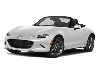 Snowflake White Pearl Mica 2018 Mazda MX-5 Miata Pictures MX-5 Miata Grand Touring Manual photos front view