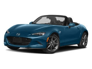 Eternal Blue 2018 Mazda MX-5 Miata Pictures MX-5 Miata Grand Touring Manual photos front view