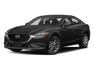 Jet Black Mica 2018 Mazda Mazda6 Pictures Mazda6 Sedan 4D Sport I4 photos front view
