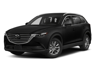 Jet Black Mica 2018 Mazda CX-9 Pictures CX-9 Sport FWD photos front view