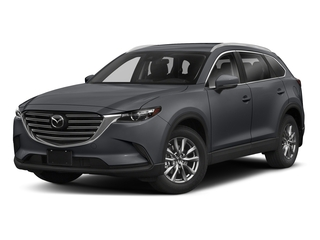 Machine Gray Metallic 2018 Mazda CX-9 Pictures CX-9 Sport FWD photos front view
