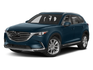 Deep Crystal Blue Mica 2018 Mazda CX-9 Pictures CX-9 Utility 4D GT 2WD I4 photos front view