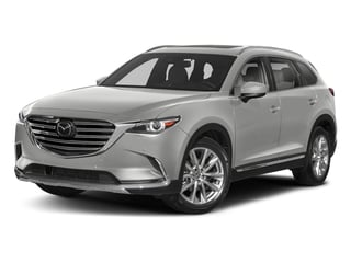 Sonic Silver Metallic 2018 Mazda CX-9 Pictures CX-9 Grand Touring AWD photos front view