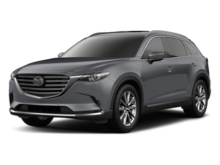 Machine Gray Metallic 2018 Mazda CX-9 Pictures CX-9 Utility 4D Signature AWD I4 photos front view
