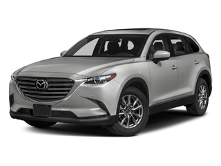 Sonic Silver Metallic 2018 Mazda CX-9 Pictures CX-9 Touring FWD photos front view