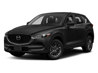Jet Black Mica 2018 Mazda CX-5 Pictures CX-5 Sport AWD photos front view