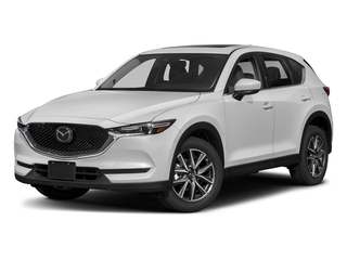 Snowflake White Pearl Mica 2018 Mazda CX-5 Pictures CX-5 Grand Touring AWD photos front view