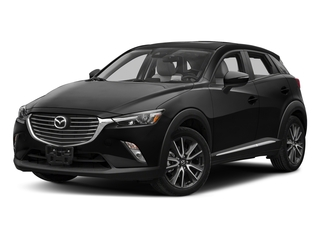 Jet Black Mica 2018 Mazda CX-3 Pictures CX-3 Utility 4D GT AWD I4 photos front view