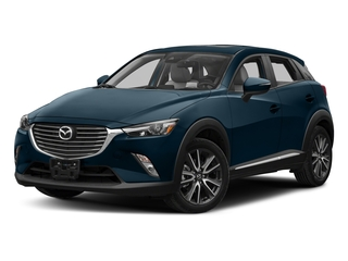 Deep Crystal Blue Mica 2018 Mazda CX-3 Pictures CX-3 Utility 4D GT AWD I4 photos front view