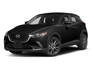 Jet Black Mica 2018 Mazda CX-3 Pictures CX-3 Touring FWD photos front view