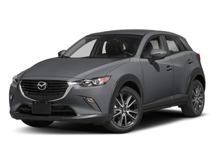 Machine Gray Metallic 2018 Mazda CX-3 Pictures CX-3 Touring FWD photos front view