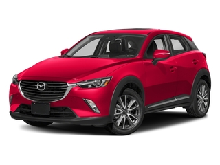 Soul Red Metallic 2018 Mazda CX-3 Pictures CX-3 Grand Touring FWD photos front view