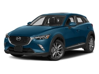 Eternal Blue Mica 2018 Mazda CX-3 Pictures CX-3 Grand Touring FWD photos front view