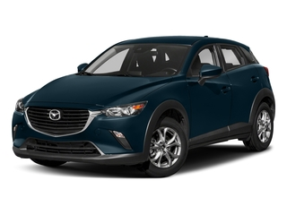 Deep Crystal Blue Mica 2018 Mazda CX-3 Pictures CX-3 Sport AWD photos front view