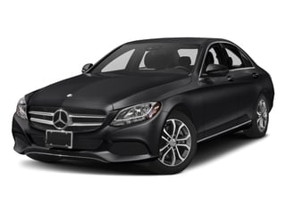 Black 2018 Mercedes-Benz C-Class Pictures C-Class C 300 Sedan photos front view