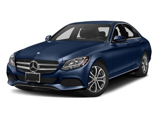 Brilliant Blue Metallic 2018 Mercedes-Benz C-Class Pictures C-Class C 300 Sedan photos front view