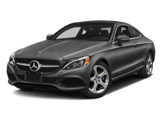 Selenite Grey Metallic 2018 Mercedes-Benz C-Class Pictures C-Class C 300 4MATIC Coupe photos front view
