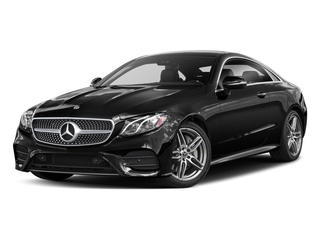 Obsidian Black Metallic 2018 Mercedes-Benz E-Class Pictures E-Class E 400 4MATIC Coupe photos front view