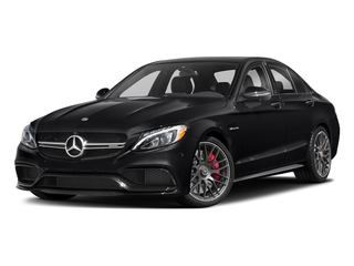 Black 2018 Mercedes-Benz C-Class Pictures C-Class AMG C 63 S Sedan photos front view