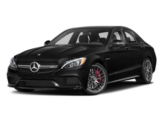 Obsidian Black Metallic 2018 Mercedes-Benz C-Class Pictures C-Class AMG C 63 S Sedan photos front view