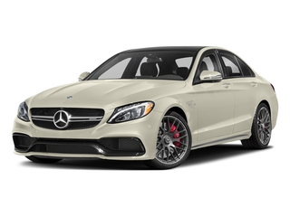 designo Diamond White Metallic 2018 Mercedes-Benz C-Class Pictures C-Class AMG C 63 S Sedan photos front view