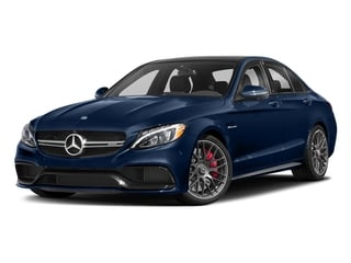 Brilliant Blue Metallic 2018 Mercedes-Benz C-Class Pictures C-Class AMG C 63 S Sedan photos front view