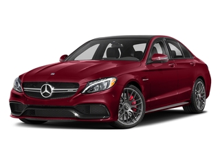 designo Cardinal Red Metallic 2018 Mercedes-Benz C-Class Pictures C-Class AMG C 63 S Sedan photos front view