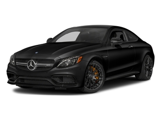 Obsidian Black Metallic 2018 Mercedes-Benz C-Class Pictures C-Class AMG C 63 S Coupe photos front view