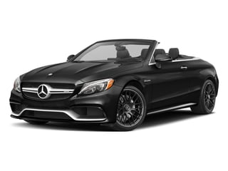 Obsidian Black Metallic 2018 Mercedes-Benz C-Class Pictures C-Class AMG C 63 Cabriolet photos front view