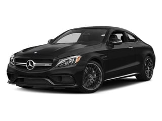 Obsidian Black Metallic 2018 Mercedes-Benz C-Class Pictures C-Class AMG C 63 Coupe photos front view