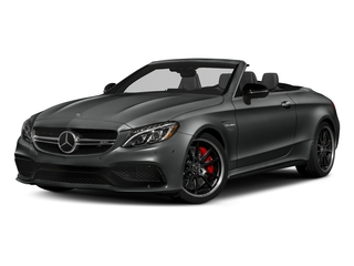 Selenite Grey Metallic 2018 Mercedes-Benz C-Class Pictures C-Class AMG C 63 S Cabriolet photos front view
