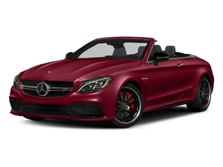designo Cardinal Red Metallic 2018 Mercedes-Benz C-Class Pictures C-Class AMG C 63 S Cabriolet photos front view