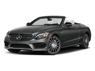 Selenite Grey Metallic 2018 Mercedes-Benz C-Class Pictures C-Class Convertible 2D C43 AMG AWD V6 Turbo photos front view