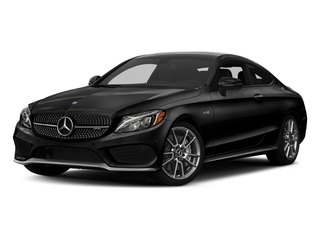 Obsidian Black Metallic 2018 Mercedes-Benz C-Class Pictures C-Class AMG C 43 4MATIC Coupe photos front view