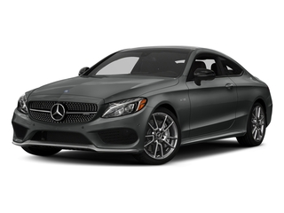 Selenite Grey Metallic 2018 Mercedes-Benz C-Class Pictures C-Class AMG C 43 4MATIC Coupe photos front view