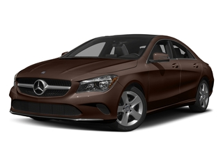 Cocoa Brown Metallic 2018 Mercedes-Benz CLA Pictures CLA CLA 250 4MATIC Coupe photos front view