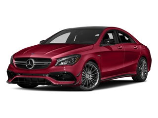 Jupiter Red 2018 Mercedes-Benz CLA Pictures CLA AMG CLA 45 4MATIC Coupe photos front view