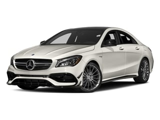 Cirrus White 2018 Mercedes-Benz CLA Pictures CLA AMG CLA 45 4MATIC Coupe photos front view