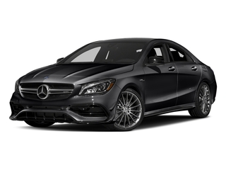 Night Black 2018 Mercedes-Benz CLA Pictures CLA AMG CLA 45 4MATIC Coupe photos front view