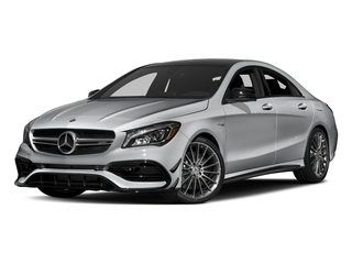 designo Magno Polar Silver (Matte Finish) 2018 Mercedes-Benz CLA Pictures CLA AMG CLA 45 4MATIC Coupe photos front view