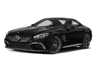 Obsidian Black Metallic 2018 Mercedes-Benz SL Pictures SL AMG SL 65 Roadster photos front view