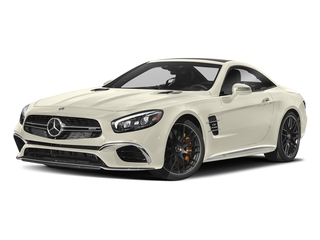 designo Diamond White Metallic 2018 Mercedes-Benz SL Pictures SL 2 Door Roadster photos front view
