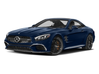 Brilliant Blue Metallic 2018 Mercedes-Benz SL Pictures SL AMG SL 65 Roadster photos front view