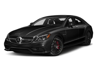Obsidian Black Metallic 2018 Mercedes-Benz CLS Pictures CLS AMG CLS 63 S 4MATIC Coupe photos front view