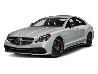 Iridium Silver Metallic 2018 Mercedes-Benz CLS Pictures CLS AMG CLS 63 S 4MATIC Coupe photos front view