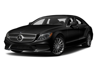 Magnetite Black Metallic 2018 Mercedes-Benz CLS Pictures CLS CLS 550 4MATIC Coupe photos front view
