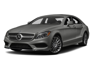designo Magno Selenite Grey (Matte Finish) 2018 Mercedes-Benz CLS Pictures CLS CLS 550 4MATIC Coupe photos front view