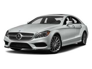 Iridium Silver Metallic 2018 Mercedes-Benz CLS Pictures CLS CLS 550 4MATIC Coupe photos front view