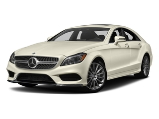 designo Diamond White Metallic 2018 Mercedes-Benz CLS Pictures CLS CLS 550 4MATIC Coupe photos front view